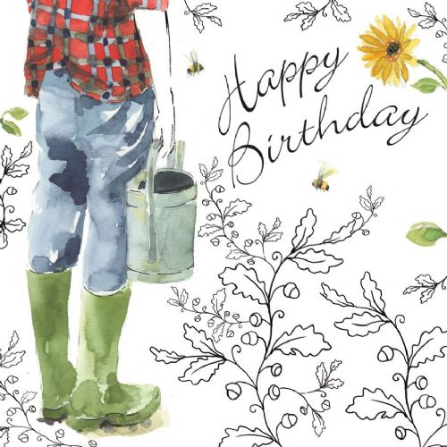 NES52 – Gardening Birthday Card For Him